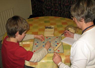Scrabble is fun!
