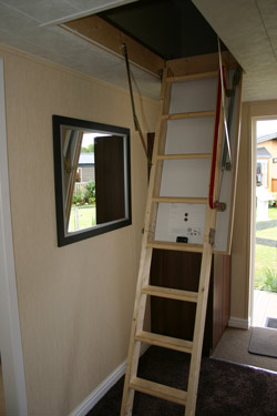 Willerby Ridgewood loft ladder