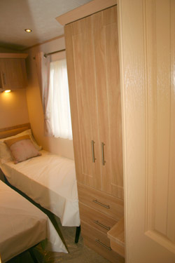 ABI Ambleside Static Caravan Twin Wardrobe