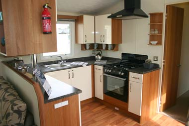 Willerby Isis Kitchen