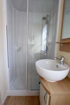 2014 Regal Regency Static Caravan Shower Room