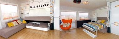 ABI Concept - living room bed