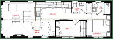 Wessex Contemporary Vue - Floorplan
