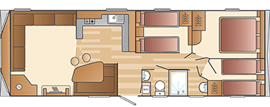 Swift Loire - Floorplan