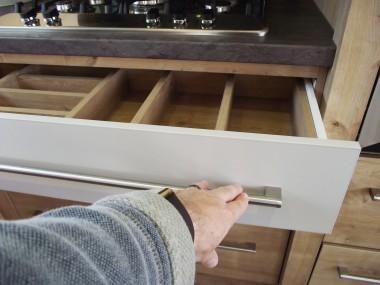 Westwood All kitchen units have soft-close mechanisms