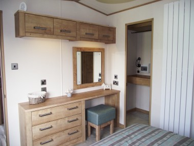 Westwood Double Bedroom Vanity + Wardrobe