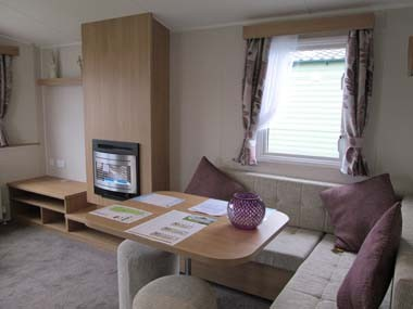 Willerby Vacation Lounge and Dining Table
