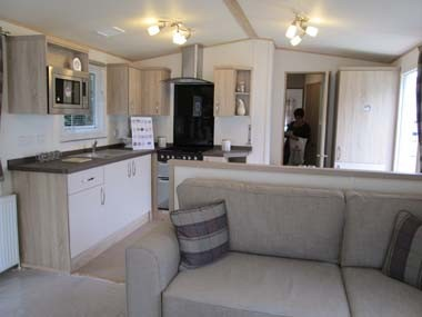 ABI Blenheim Kitchen from Lounge