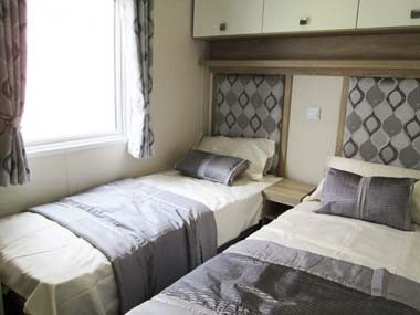Willerby Sheraton Twin Bedroom