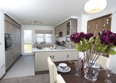 Ashbourne Bungalow Dining Area and Kitchen