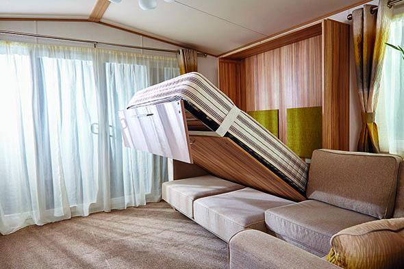 slimline sofa side table twin size sleeper bed 2016 abi harewood static caravan review