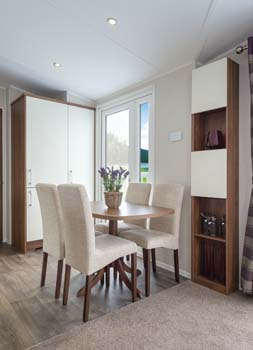 Willerby Chamberry Dining and Shelving