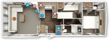 Willerby Chamberry Floor Plan