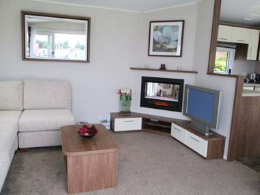 Willerby Chamberry TV and Fire Corner