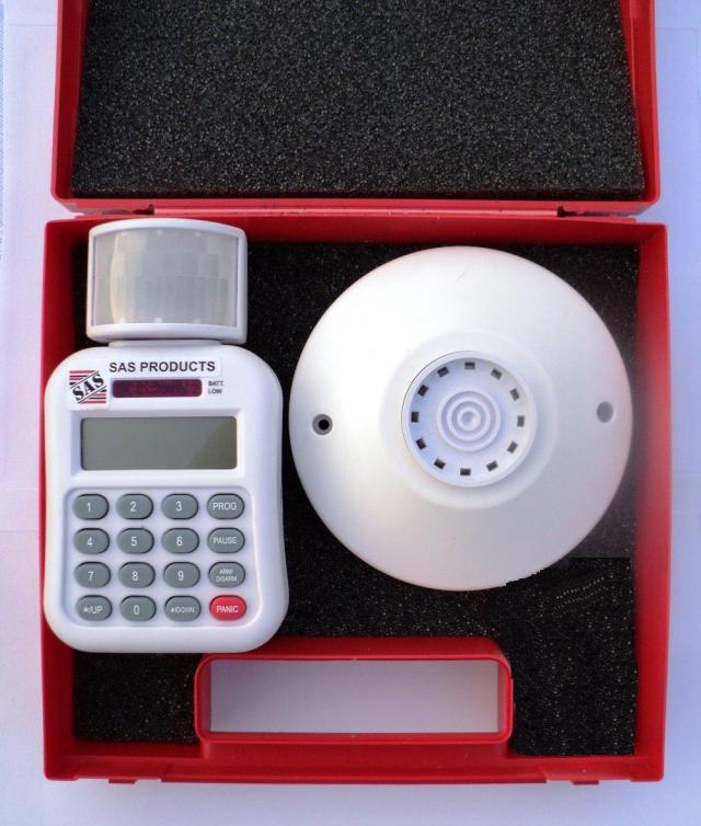 SAS SMS PIR alarm