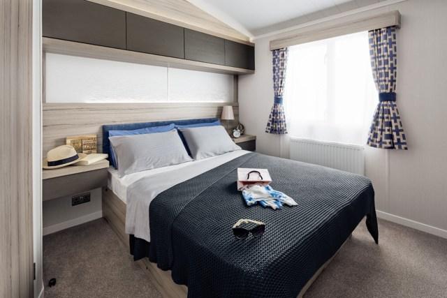 2017 Swift Antibes Master Bedroom