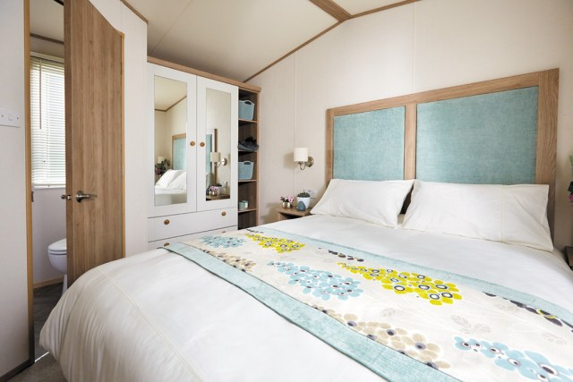ABI St David static caravan Master Bedroom Main