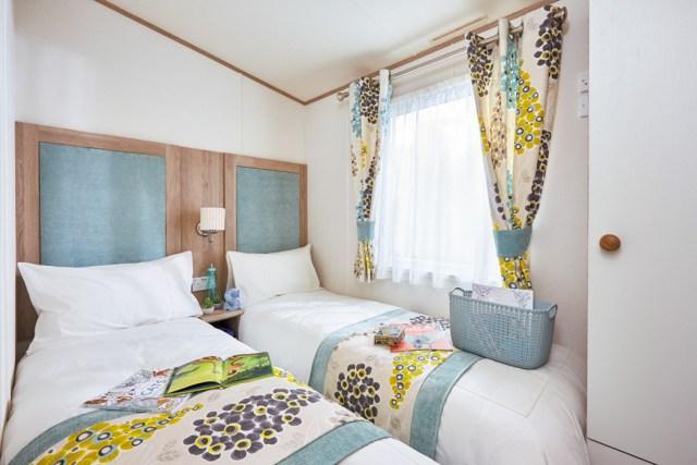 ABI St David static caravan Twin Bedroom Main