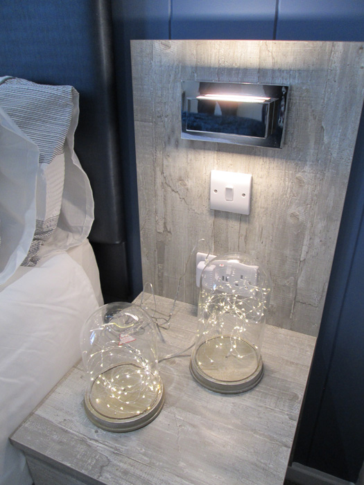 Tingdene Country Lodge Bedside Table Detail