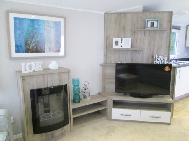 Willerby Skye Fireplace & TV Unit