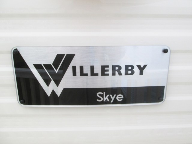 Willerby Skye Sign
