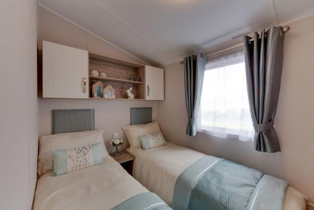 Willerby Skye Twin Bedroom