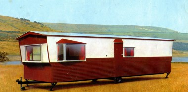 1972 Pemberton Moonbeam static caravan