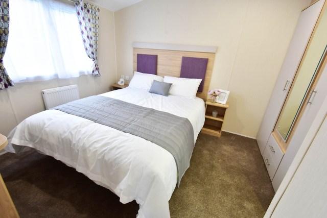 Willerby Linwood master bedroom
