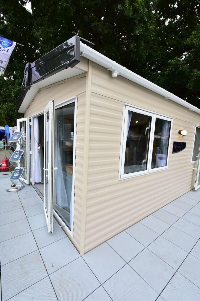 Regal Hemsworth static caravan exterior