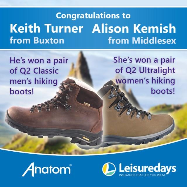 Anatom boots winners