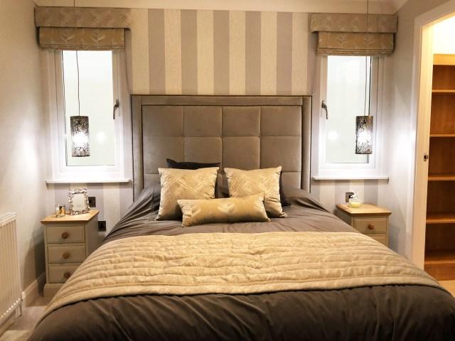 2019 Willerby Delamere master bedroom