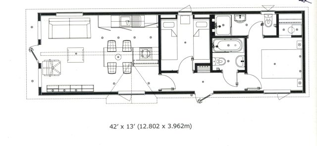 2019 Tingdene Savannah floorplan
