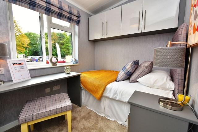 2019 Omar Alderney holiday lodge third bedroom