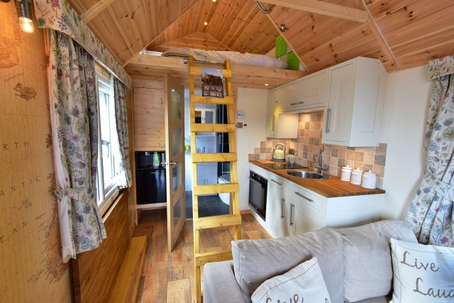 Tiny Eco House interior