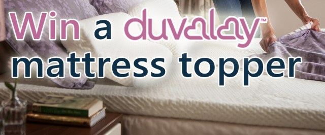 Duvalay toppers giveaway