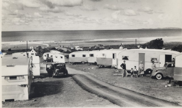 1950s caravan park
