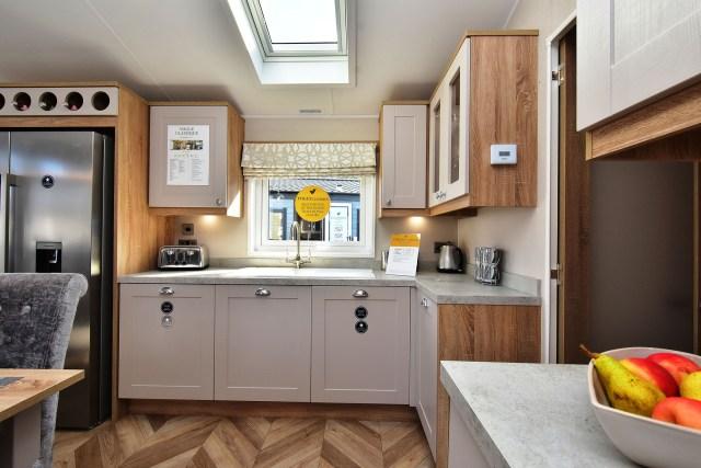 2020 Willerby Vogue Classique static caravan kitchen