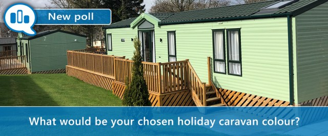 Holiday caravan colours