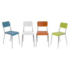 Funky Wooden Chairs Revolving Chair For Home Reef Cafe Leisure Furniture Direct