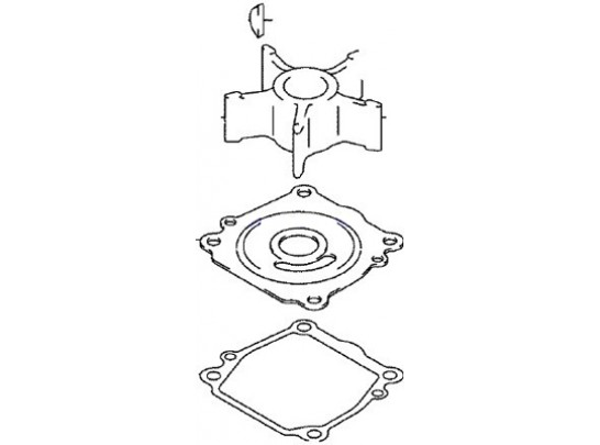 Johnson/Evinrude Outboard Water Pump Repair Kit (5033541