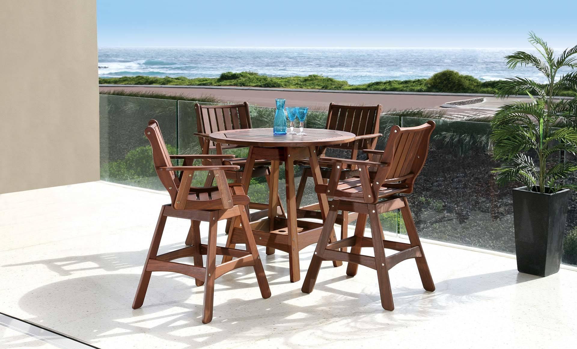 Jensen Leisure Capri Hi Dining Table with Integra Swivel
