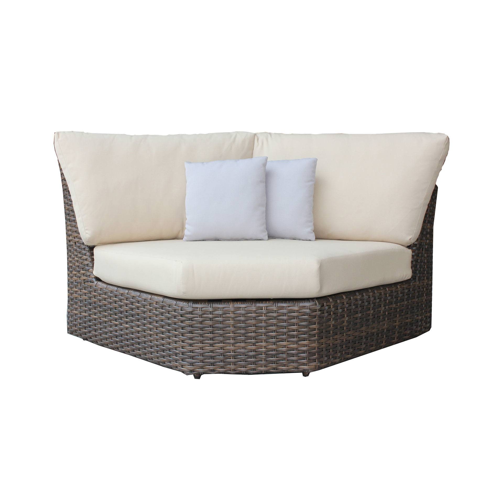 patio furniture covers for sectional sofas air sofa online ratana portfino curved corner chair - leisure living