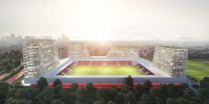 Photo of Moederscheim Moonen Unveils Mixed-Use Towers at Rotterdam Stadium | Sports management