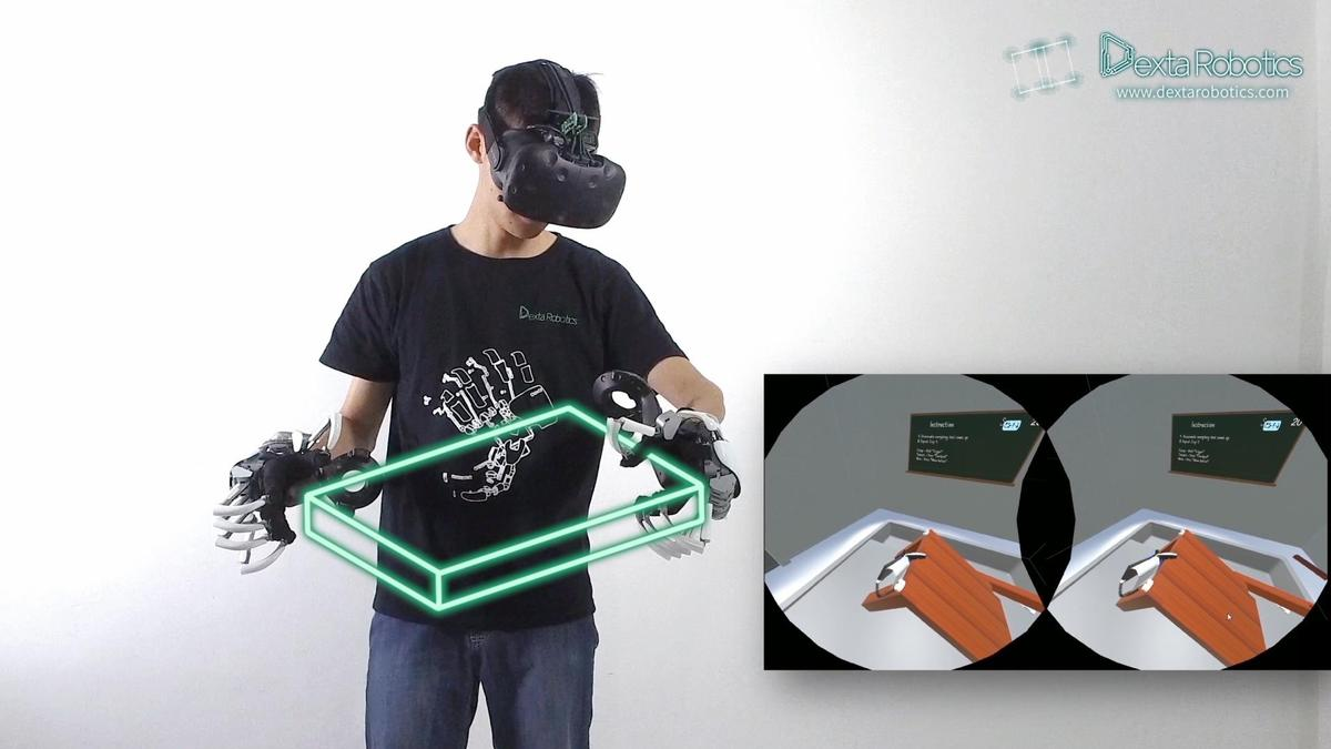 Exoskeleton could change VR game with haptic feedback to simulate touch   attractionsmanagement.com news