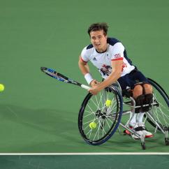 Wheelchair Olympics Bedroom Chair Pottery Barn Gordon Reid Won Gold During The Rio 2016 Credit