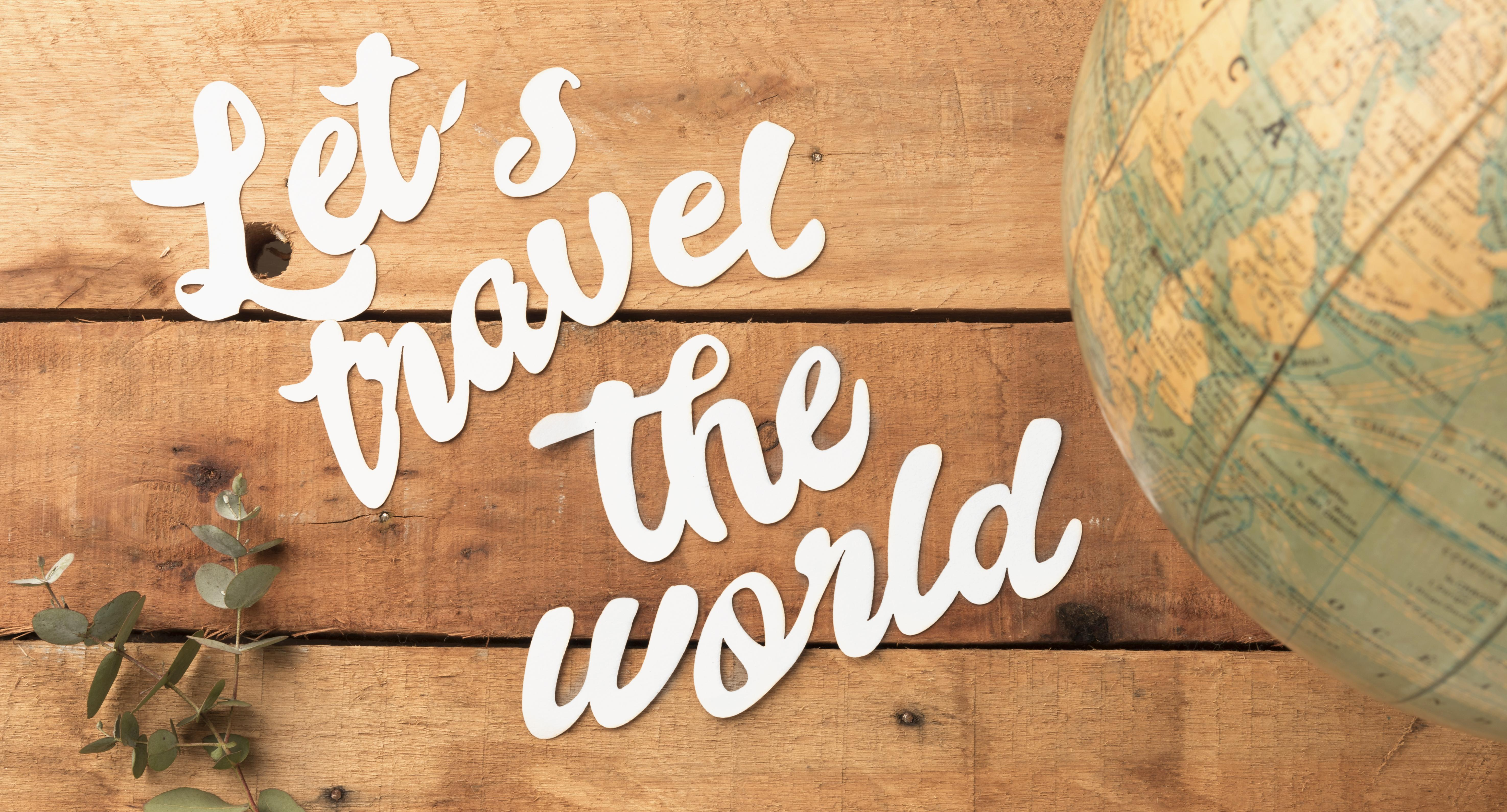 Travel the world header image