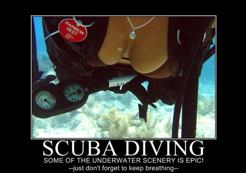 scuba humor top 10