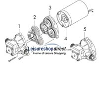 Shurflo Trail King Pump Series + Spare Parts