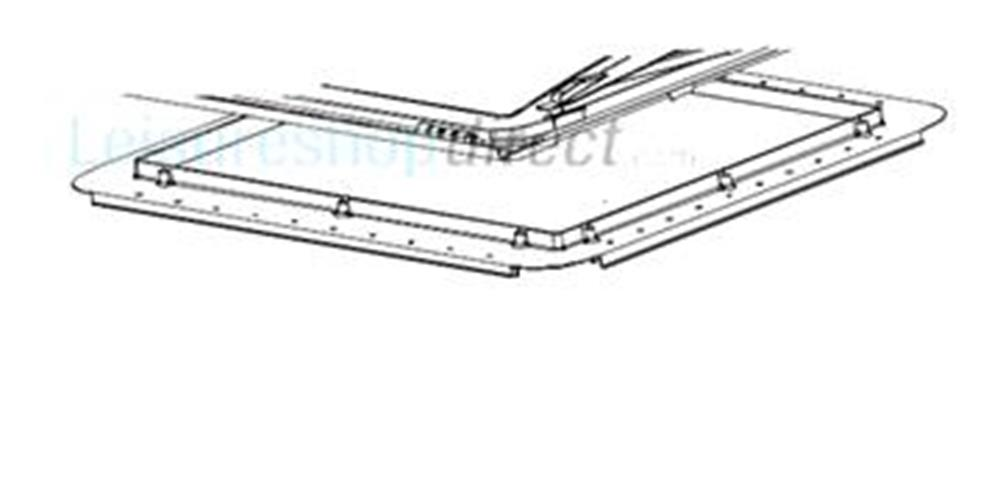 Mini-Heki Plus Mounting Frame for roof thickness 25-42 mm