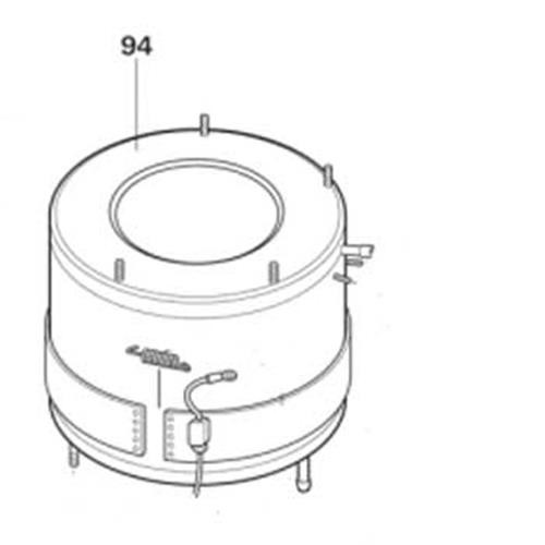 Water Container for the Trumatic C6002 + Trumatic C3402